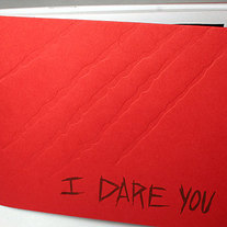 I Dare You - mini comic