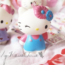 Squishy Hello-Kitty Mascot #1