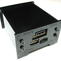 BeagleBone with DVI Cape Enclosure