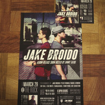 Signed Album Release Poster and Flyer