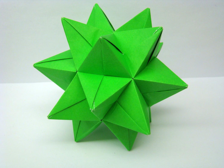 modular origami star ball wwwimgkidcom the image kid