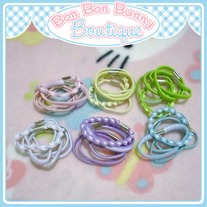 Tiny Treat Ponytail Elastic - Variety Set
