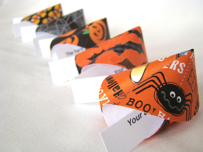 halloween origami fortune cookies set of 25 183 origami