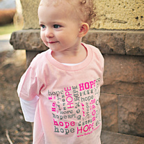Toddler Girl HOPE Tee