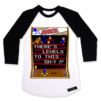 "Levels to this sh*t ""baseball tee"""