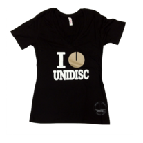 Women's I Heart Unidisc - Black