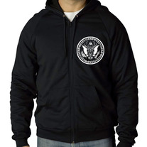 """Empire Seal"" Zip-Up Hoodie"