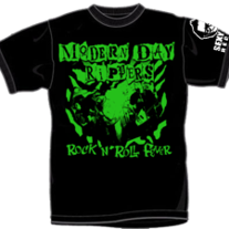 "MODERN DAY RIPPERS ""Rock n' Roll Fever"" T-Shirt (Catalog # TEE-011)"