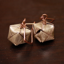 Woven Hassock Earrings