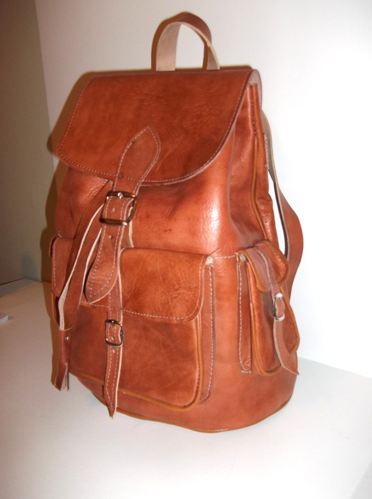 Vintage Leather Backpacks For Women