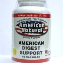 American Digest Support 60 caps by American Natural (Digestive Enzymes)