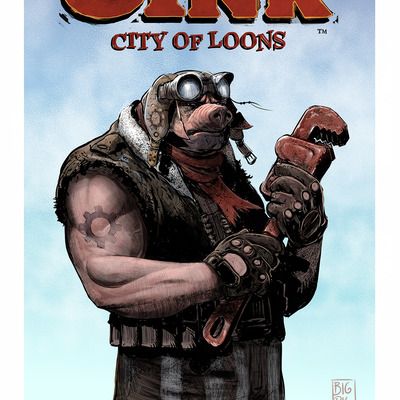 Oink: city of loons poster