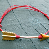 The Hunger Games, Katniss' Arrow Bracelet in Red