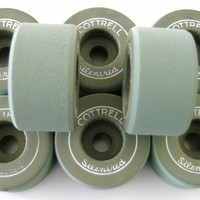 Cottrell Silentred Clay Roller Skate Wheels - Thumbnail 3