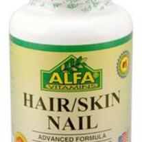 Hair/Skin Nail 60 caps by Alfa Labs