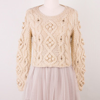 Chicwish Bobble Sweater S
