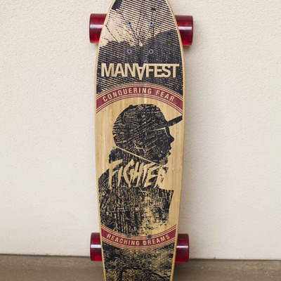 Limited edition manafest skateboard