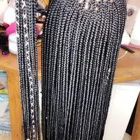 Closure box braids wigs  - Thumbnail 3