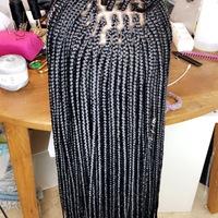 Closure box braids wigs  - Thumbnail 4