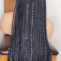 Box Braids wig (handmade glue-less wig )  - Thumbnail 1
