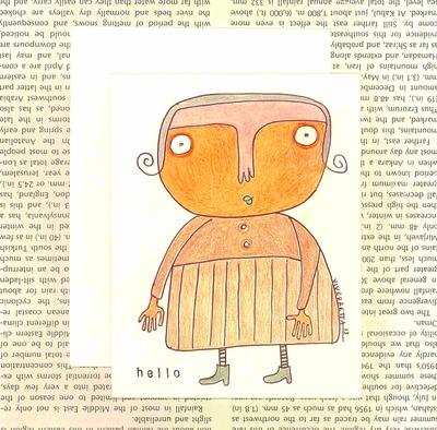 Hello - Card