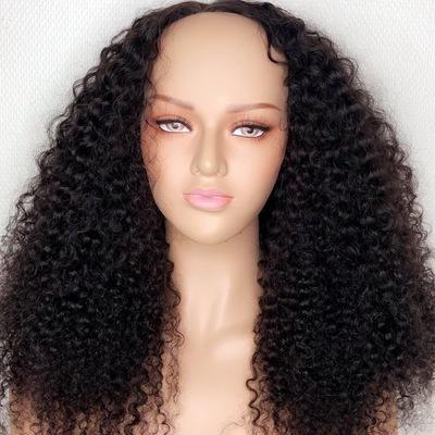 Glue less human hair wig (handmade closure wig)