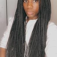 Box braids wig (handmade) - Thumbnail 1