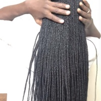 Box braids wig (handmade) - Thumbnail 2