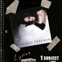 """Sleep: Lyrics and Personal Notes"" Book by Kimberly Freeman *AUTOGRAPHED AND BITTEN*"