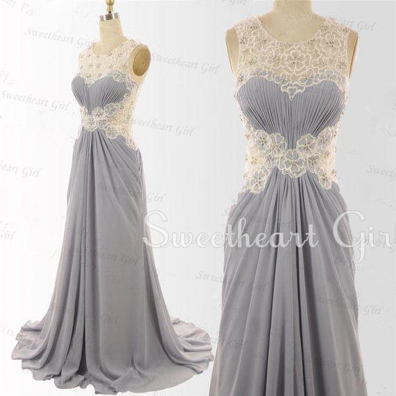 Floor-Length Chiffon Dresses