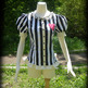 Gloomth's Haunted Circus Pierrot Corset Blouse - Thumbnail 3