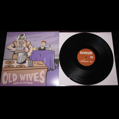 The blendours / old wives split lp