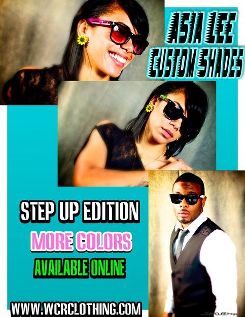 Step Up Edition Custom Shades