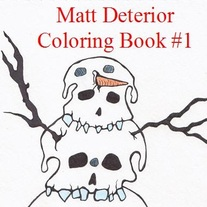 COLORING BOOK #1 by Matt Deterior