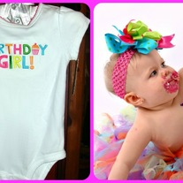 BIRTHDAY GIRL T shirt Onesie