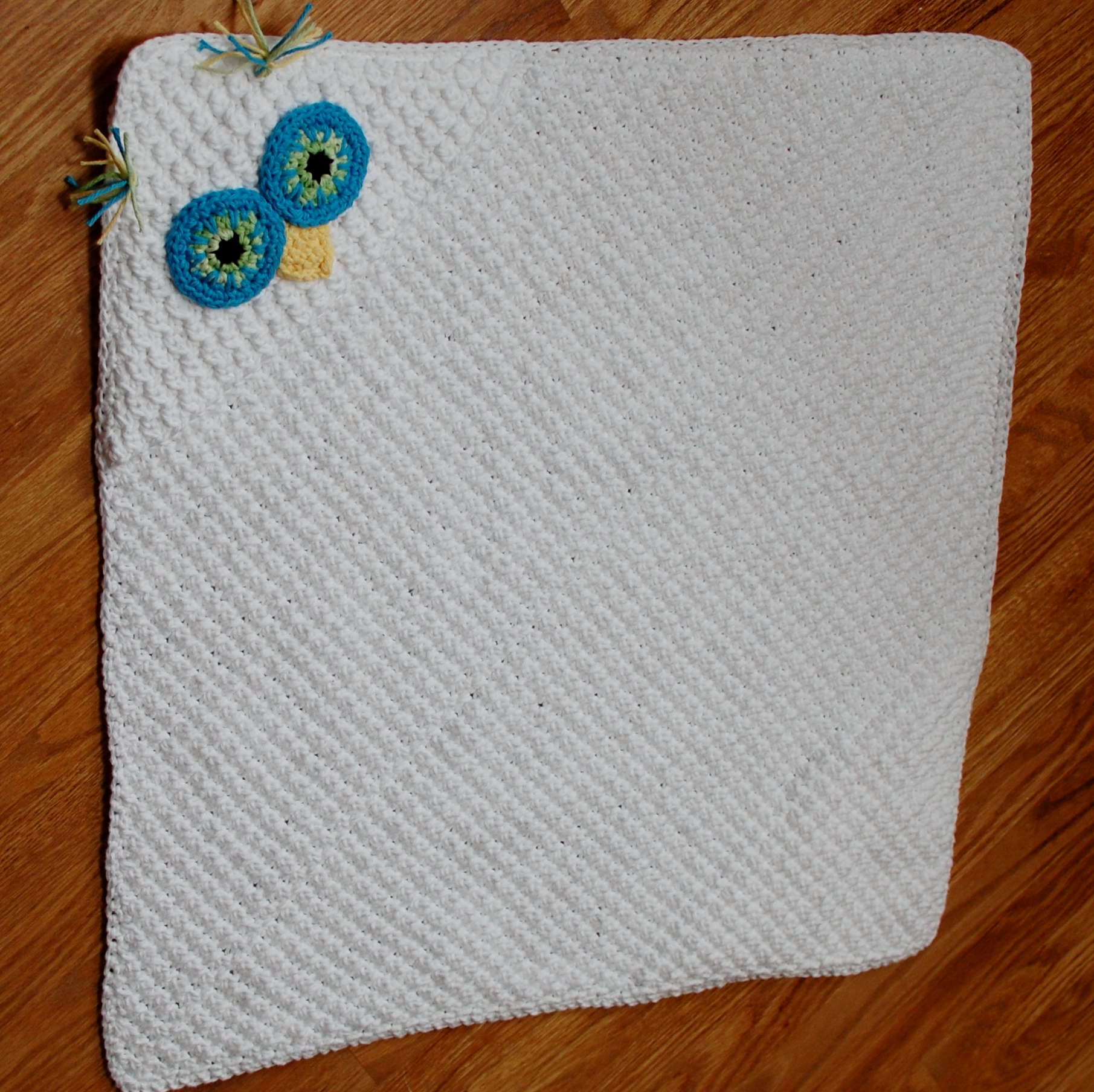 Crochet Pattern For Hooded Blanket : Crochet Pattern - Owl Hooded Baby Towel (also makes a ...
