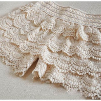 Cake Lace Shorts White