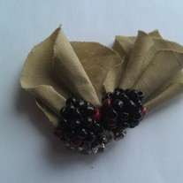 Blackberries Hair Clip
