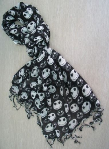 FREE SHIP Nightmare Before Christmas Scarf · The Sassy Boutique ...