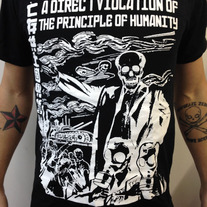 The Virus 2013 limited tour shirt - Direct Violation on black medium photo