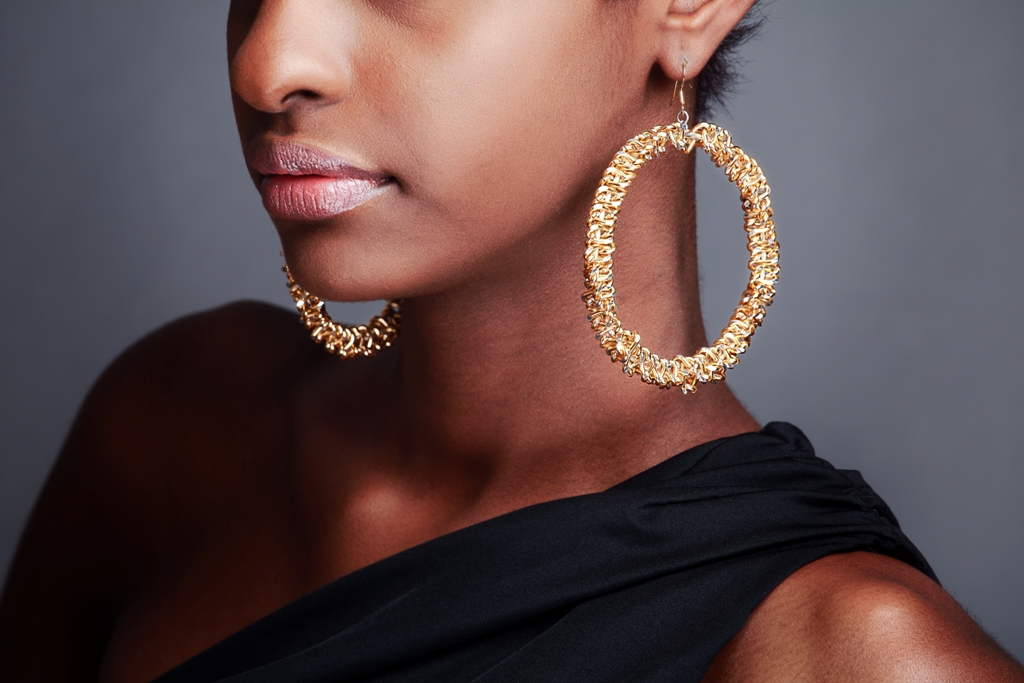 earrings deslby earring look l follow rihanna like conch gold jewelry jewels silver