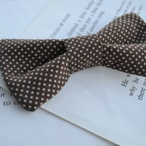 Bow Tie {Chocolate Dots}