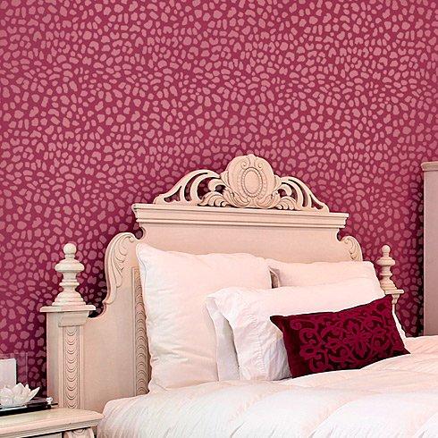 Leopard Skin Allover Stencil - Large Scale - Reusable wall stencils ...