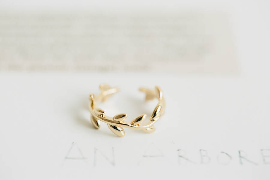 adjustable knuckle leaf ring jewelry rings unique ring adjustable