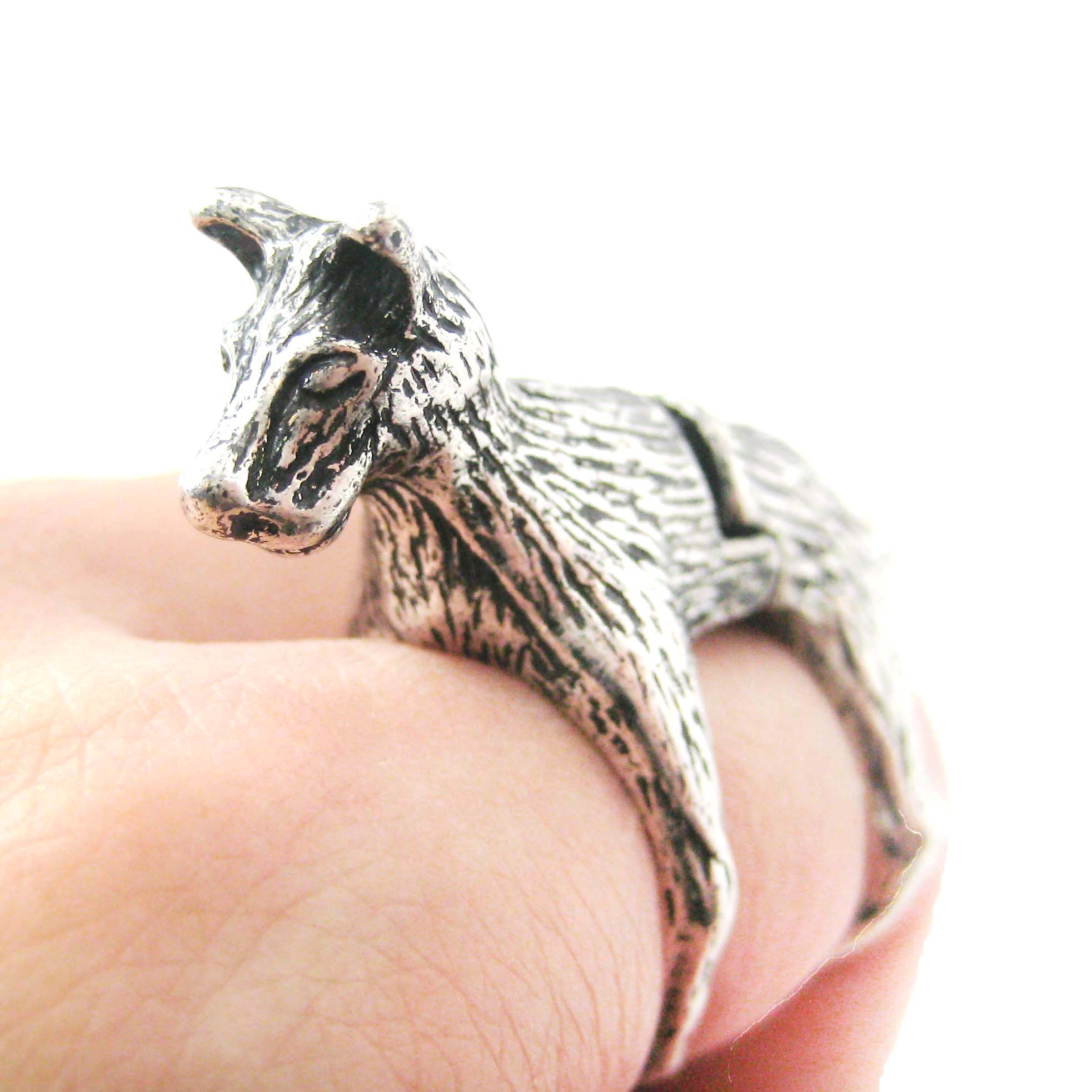 Detailed dog hound shaped animal armor joint knuckle ring in 3d dog shaped animal wrap armor knuckle joint nvjuhfo Image collections