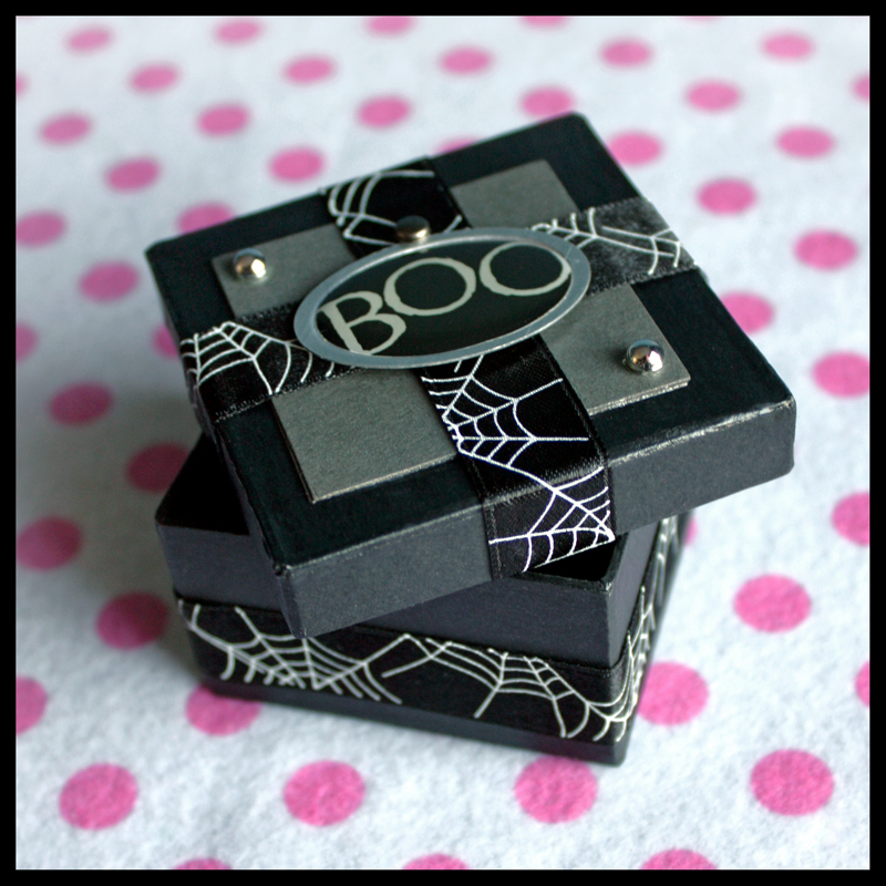 Halloween Scare Creepy Cute Handmade Gift Box Sugar Spice Diy