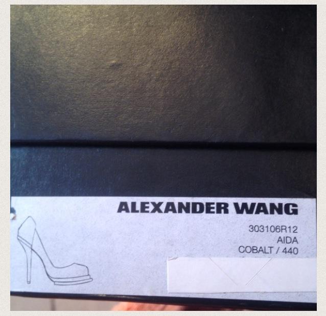 1f529bad18a1 ... Alexander Wang  Aida Cobalt Pump (Consignment Shop) - Thumbnail 2 ...