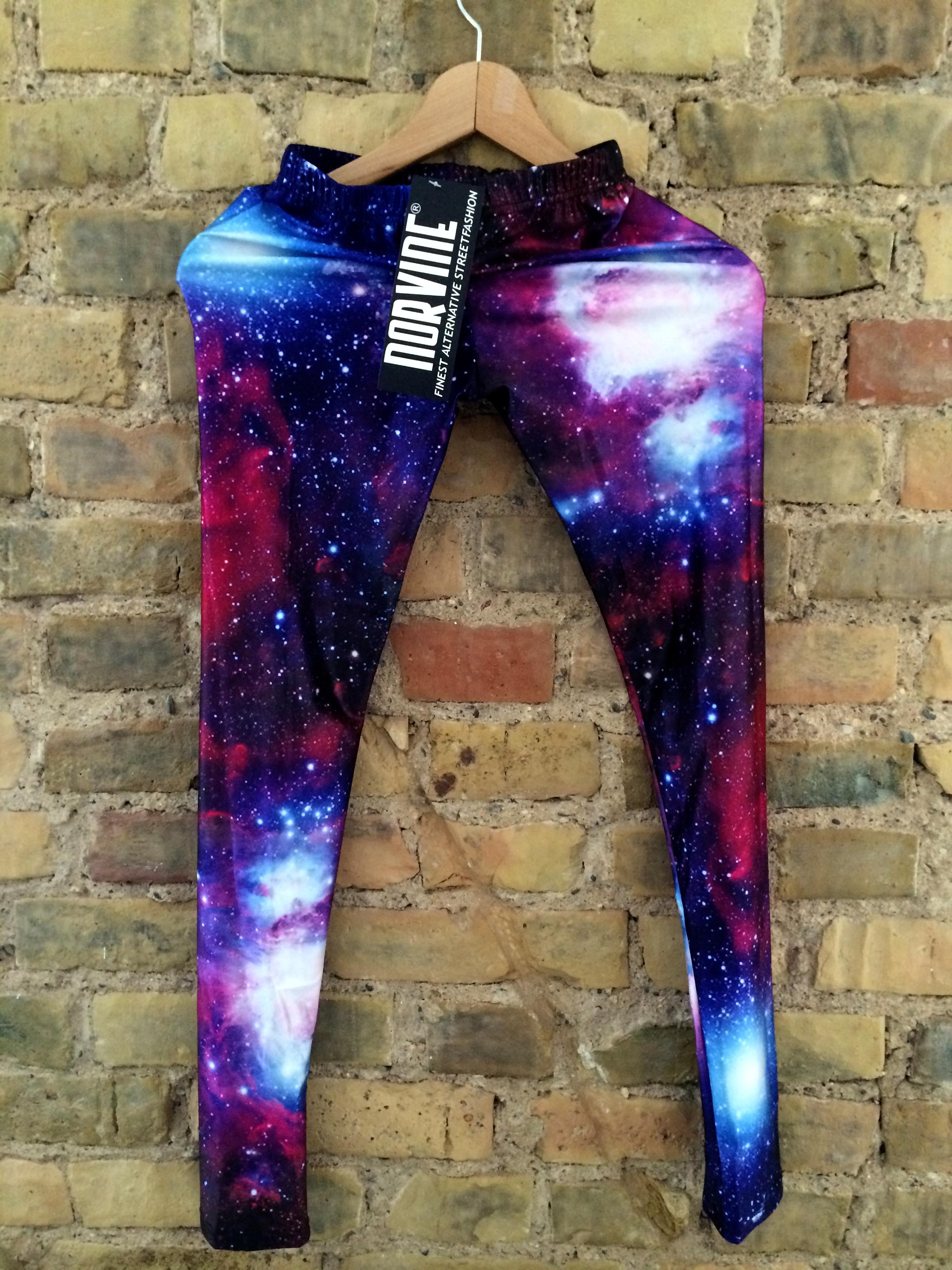 Galaxy Leggings On Storenvy
