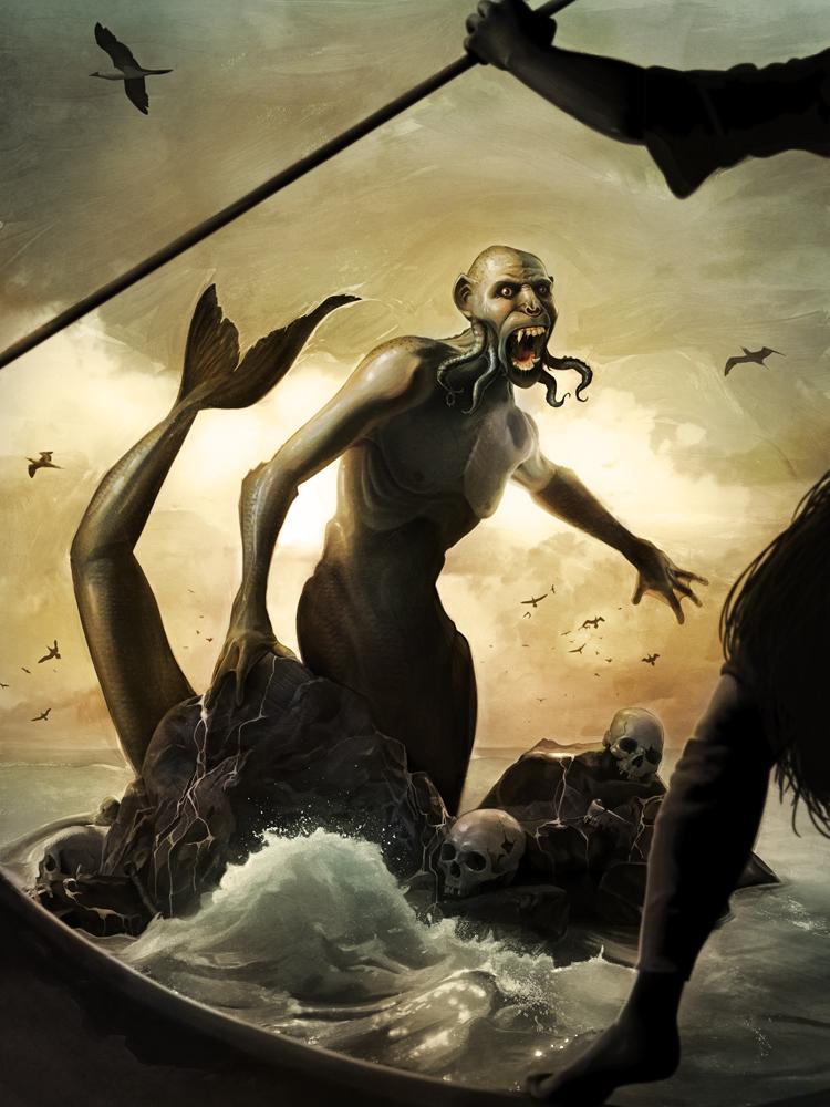 Feejee Mermaid David Seidman Illustrations Online Store