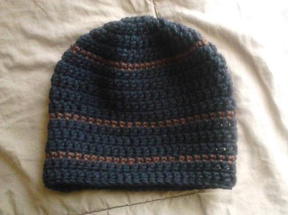 f40cbd3c972 ... Hand Crochet Mens Skullcap Beanie Hat Style Like The Country Singer Zac  Brown - Thumbnail 2 ...